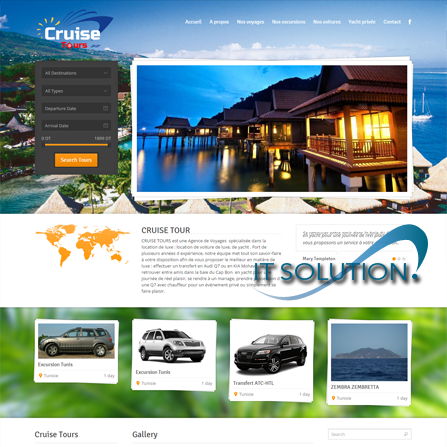projets website itsolution tunisie cruisetourstunisie