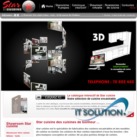 projets website itsolution tunisie starcuisie